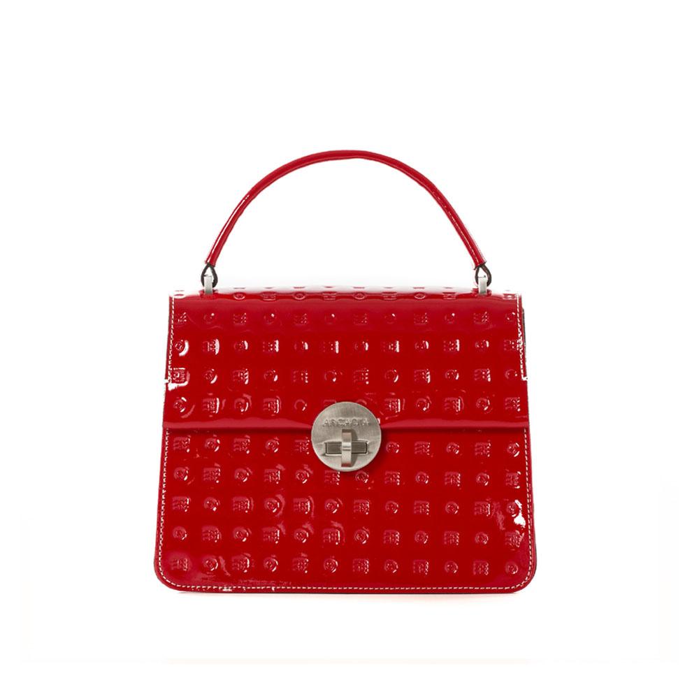Arcadia Red Patent Grab Bag