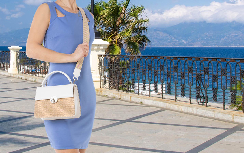 Arcadia Wicker Bag