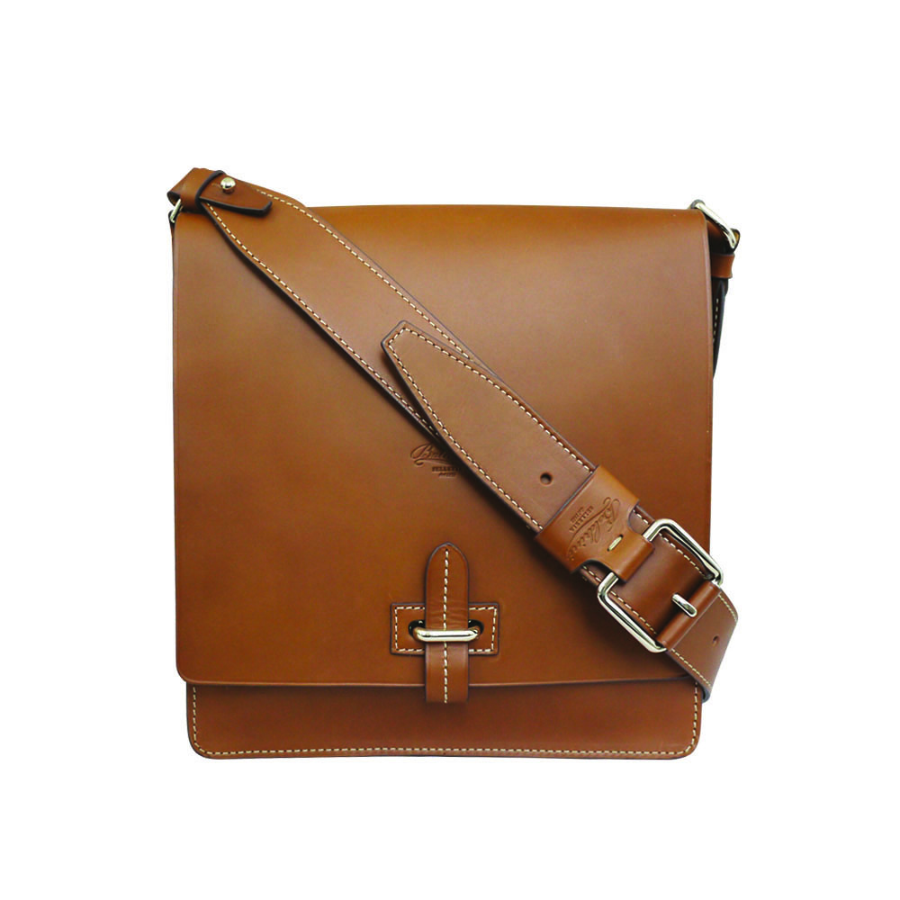 Boldrini Messenger Bag in tan