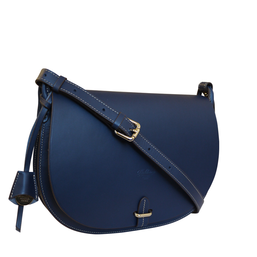 Boldrini Blue saddle Bag