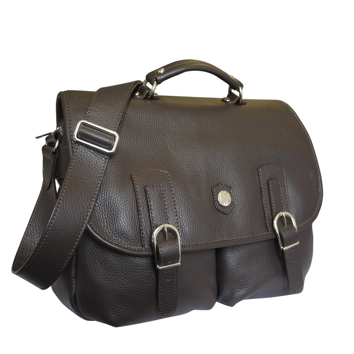 3a158b180a30 Bonfanti Luxury Italian Designer Harris Tweed and Leather Bags - Attavanti