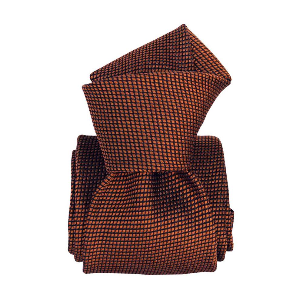Silk tie, copper