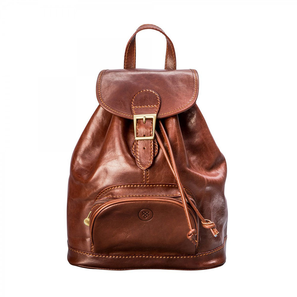 Maxwell Scott leather backpack