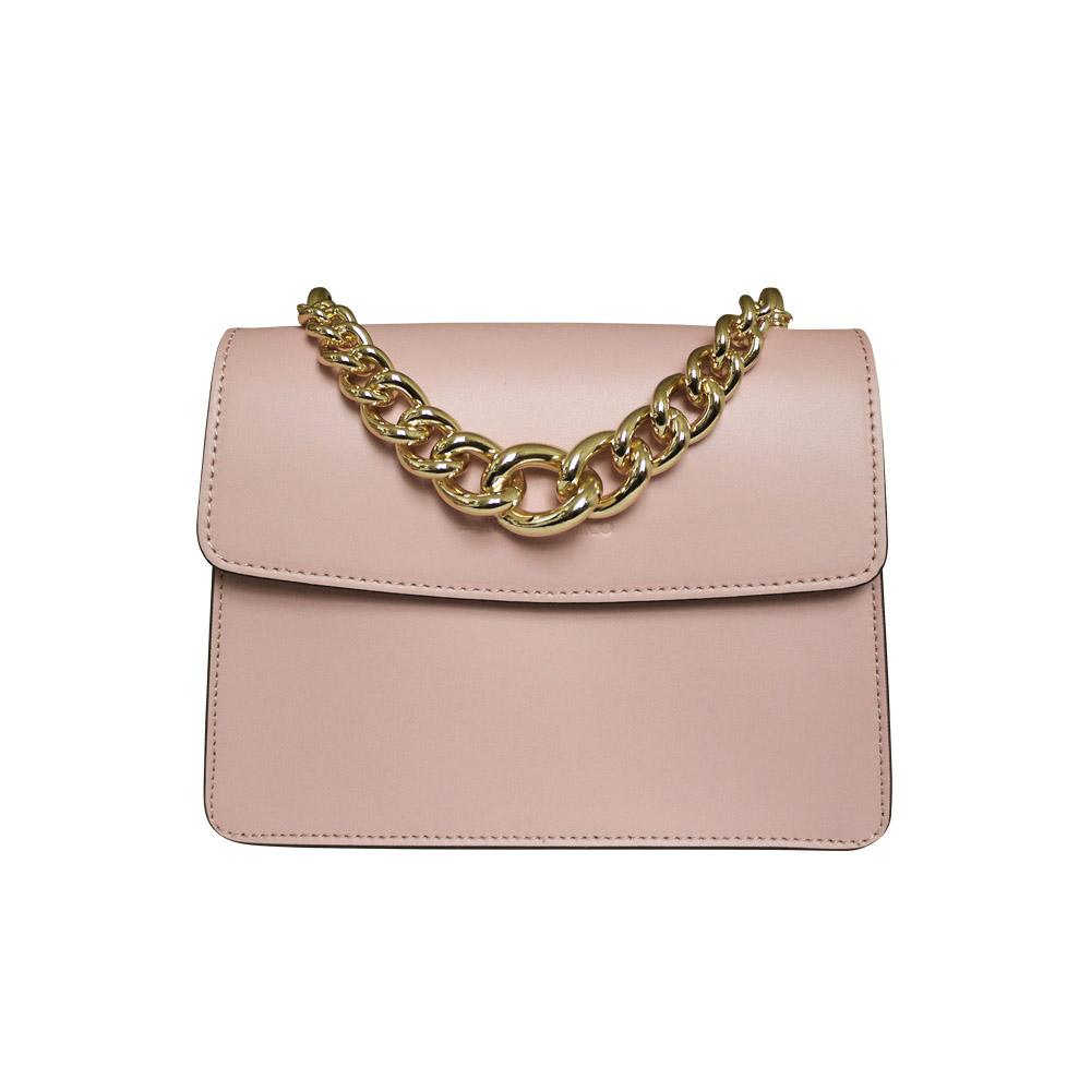 Stefano Turco Pink Chain Bag