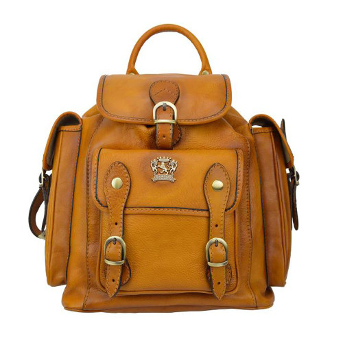 Pratesi Montalbano Italian Leather Backpack - Tan