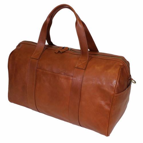 Terrida Viaggio Italian Leather Classic Holdall - Brown
