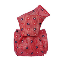 Segni & Disegni Italian handmade Silk Tie - Red