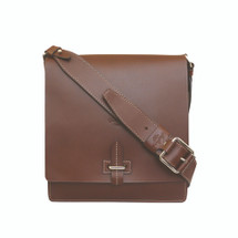 Boldrini Giorgio Leather Messenger Bag - Brown