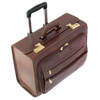 Chiarugi Italian Leather Pilot Briefcase - Brown