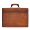 Pratesi Ghirlandaio Italian Aged Leather Attache Case - Brown 2