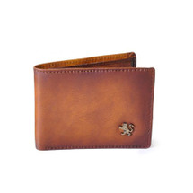 Pratesi Cappella Brancacci Coin Compartment Wallet - Brown