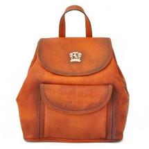 Pratesi Gaville Italian Leather Backpack - Tan