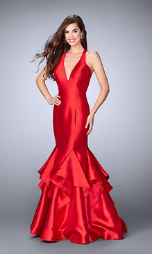 La Femme 24197 Mermaid Dress