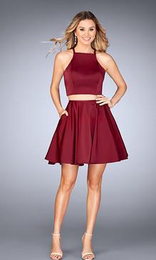 La Femme 25114 Short Dress