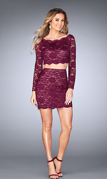 La Femme 25301 Short Dress