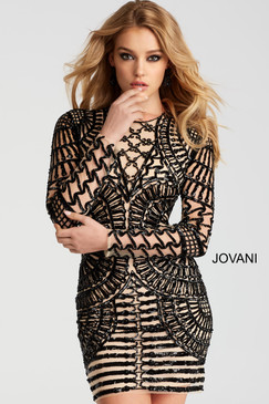 Jovani 41851 short cocktail dress