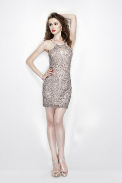 Primavera 1912 Beaded Short Dress