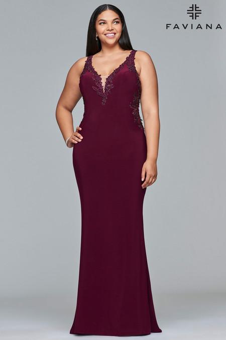 Faviana 9432 Plus Size Dress