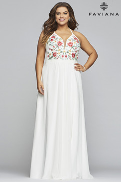 Faviana 9435 Plus Size Dress