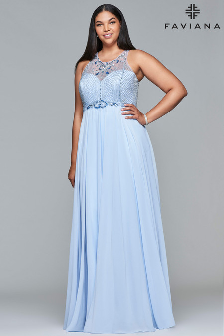 Faviana 9436 Plus Size Dress | Onlineformals.com