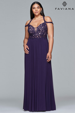 Faviana 9439 Plus Size Dress