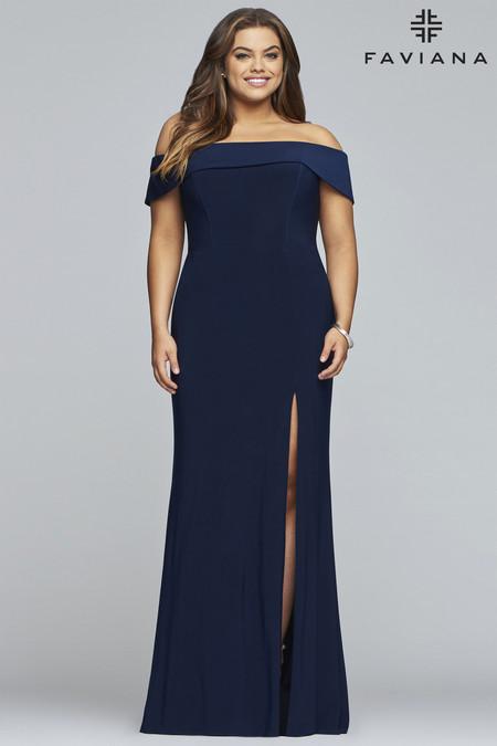 Faviana 9441 Plus Size Dress