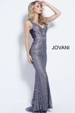Jovani 55819 Beaded Dress