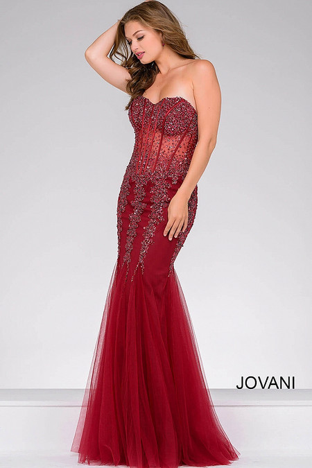 189c0371921 Jovani 5908 Mermaid Dress. Click to enlarge