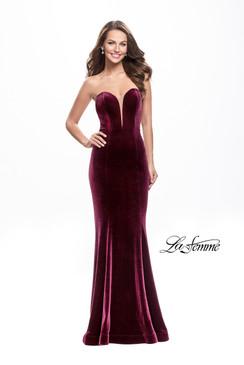 La Femme 25158 Prom Evening Dress