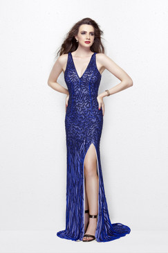 Primavera 1832 Sequin Prom Dress