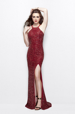 Primavera 1841 Sequin Prom Dress