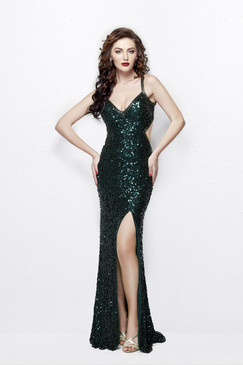 Primavera 1853 Sequin Prom Dress