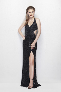 Primavera 3002 Sequin Prom Dress