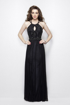 Primavera 3005 Sequin Prom Dress