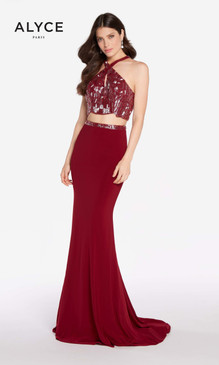 Alyce Paris Prom Dress 60013.