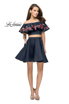La Femme 26627 short homecoming dress