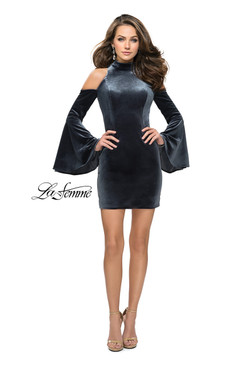 La Femme 26628 short homecoming dress
