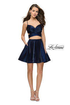La Femme 26683 Short Dress