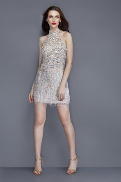 Primavera 3104 Short Dress