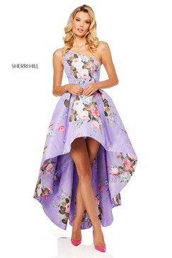 Sherri Hill 52489 Floral Dress