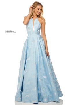 Sherri Hill 52630 Floral Ballgown