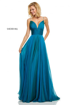 Sherri Hill 52590 Chiffon Dress