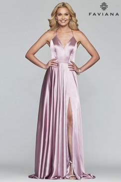 Faviana S10209 Flowy Dress