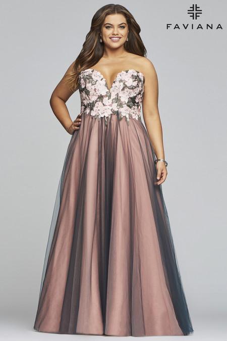 f24ed09e08 Faviana 9467 Plus Size Dress