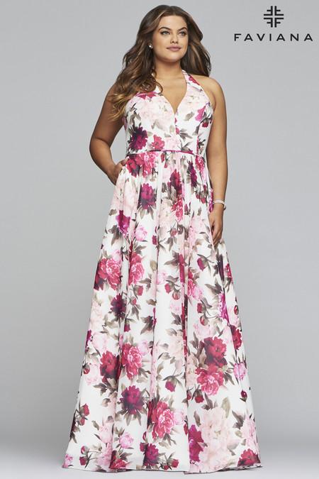 Faviana 9468 Plus Size Dress
