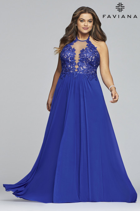 Faviana 9472 Plus Size Dress