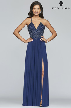 Faviana S10270 Flowy Dress