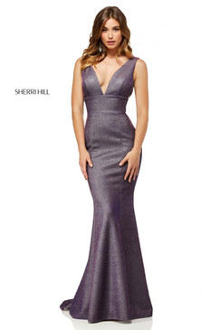 Sherri Hill 52480 Stretch Glitter Dress