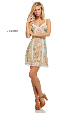 Sherri Hill 52669 Short Dress
