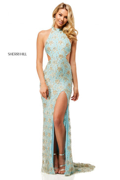 Sherri Hill 52683 Beaded Dress